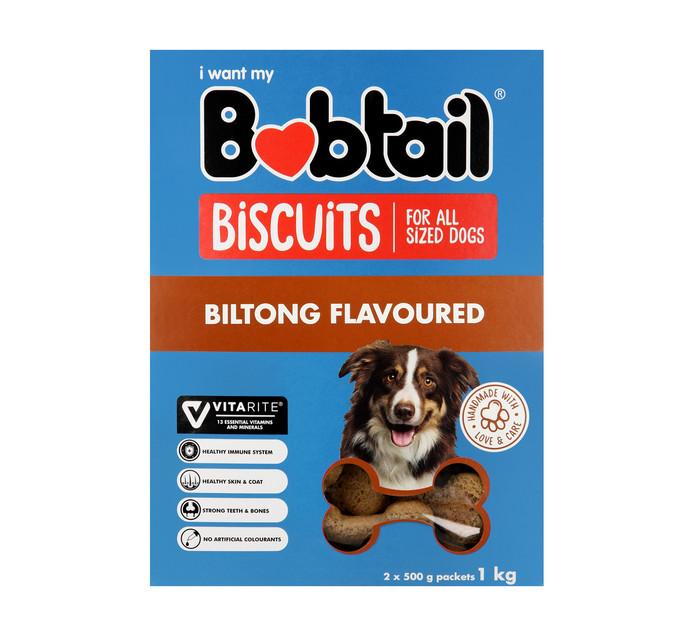 Bobtail Biscuits Biltong (1 x 1kg)