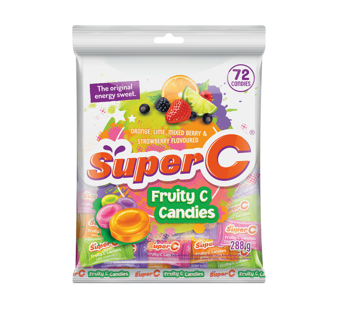 Super C Candies FRUITY (1 X 72'S)