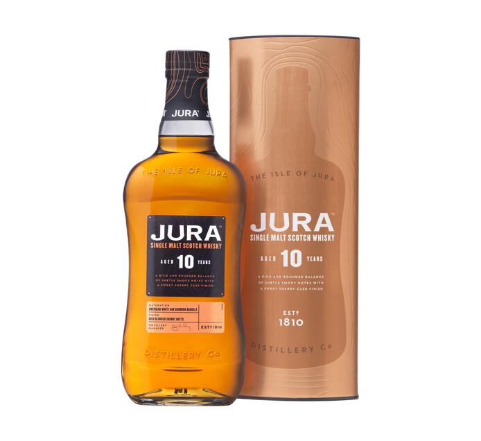Jura 10 YO Single Malt Whisky (1 x 750 ml)
