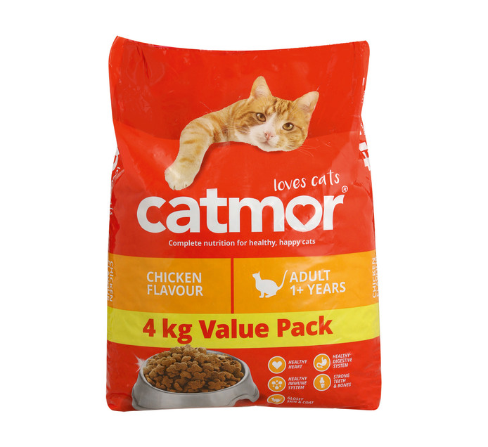 Catmor Adult Dry Cat Food Chicken (1 x 4kg)