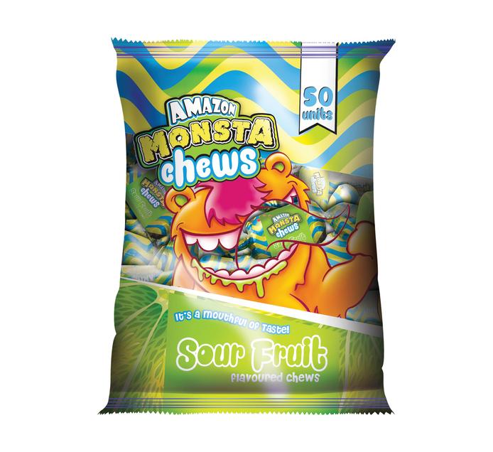 Amazon Monsta Chews Sour Fruit (50's)