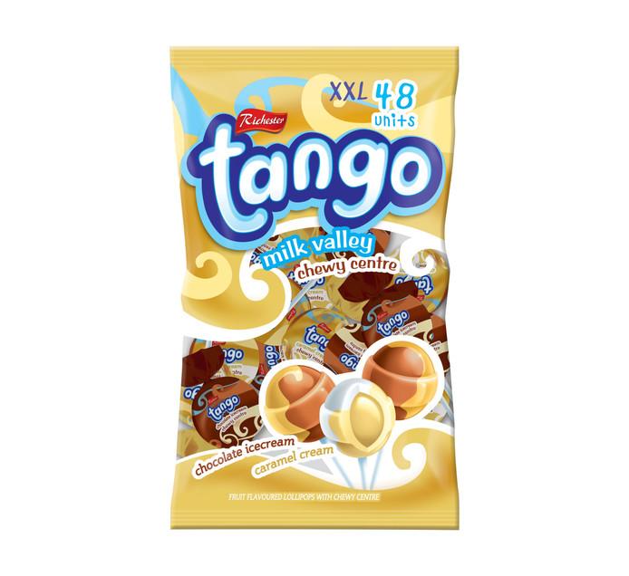 RICHESTER FOODS Tango Pops Milk Valley (1 x 48's)