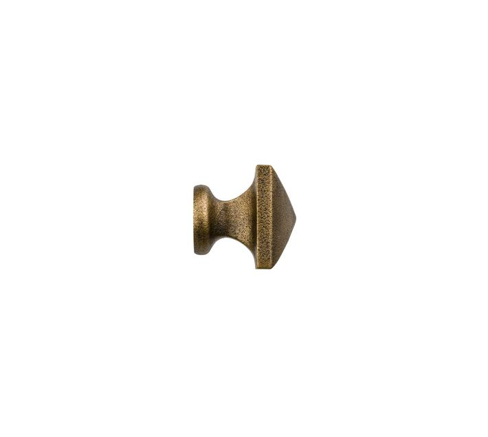 Decor Depot 25 mm Curtain Rod Square handle Finial Dark Copper