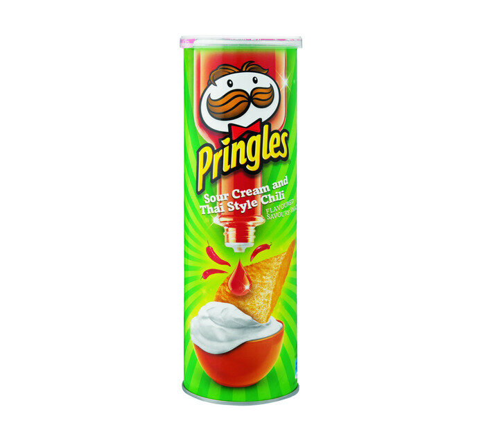 Pringles Potato Chips Sour Cream Chilli (1 x 110g)