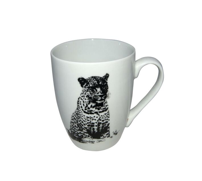 Classic animal print coffee mug