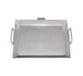 FIRE FRYER Large Stainless Steel Braai Pan