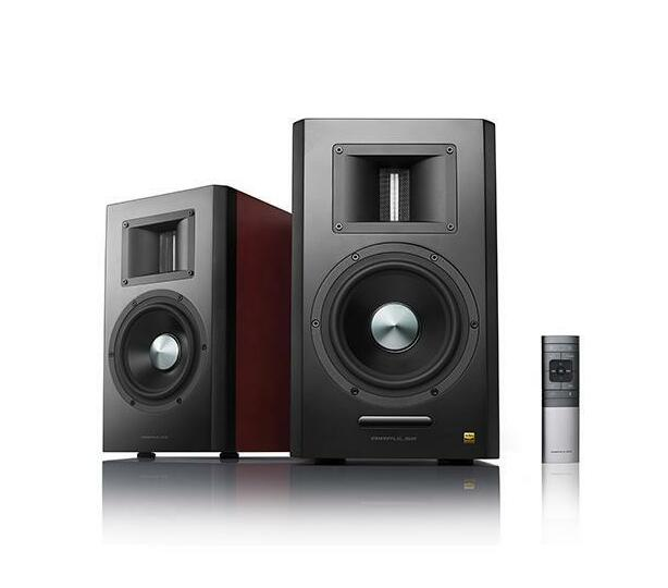 Edifier - A300-BRO AIRPULSE A300 Active Speaker System BROWN