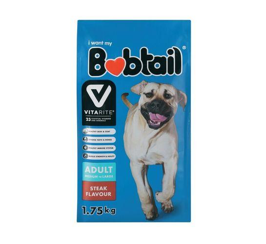 Bobtail Dry Dog Food Large Steak (1 x 1.75kg)