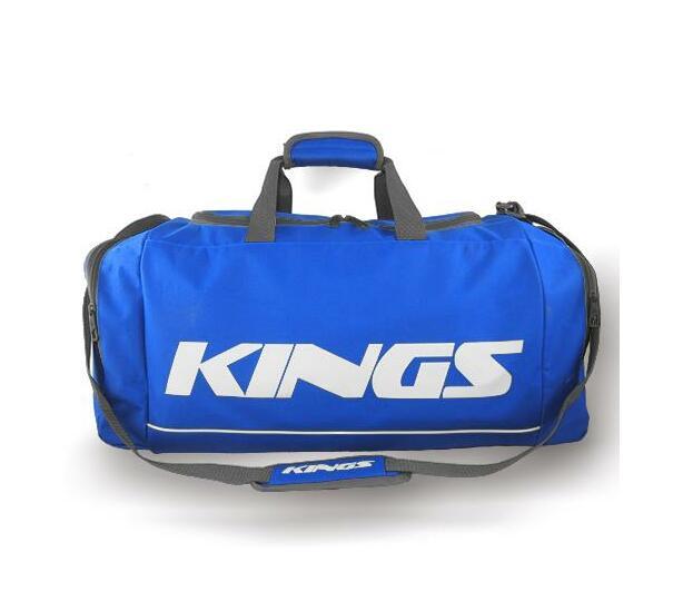 Kings Dome Shaped Carry Bag Royal & White - 2577L