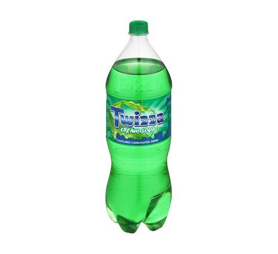 Twizza Soft Drink Cream Soda (1 x 2L)