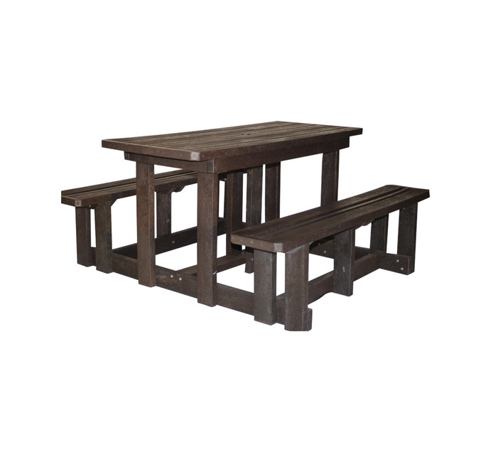Urban Oasis 4-Seater Eco Picnic Bench