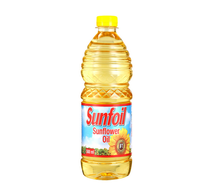 Sunfoil Sunflower Oil (12 x 500ml)