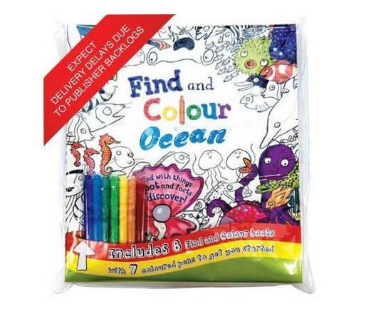 Find & Colour: Bag Collection