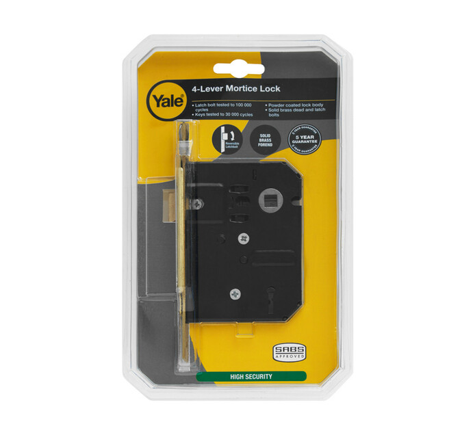 Yale 4 Lever Mortice Lock