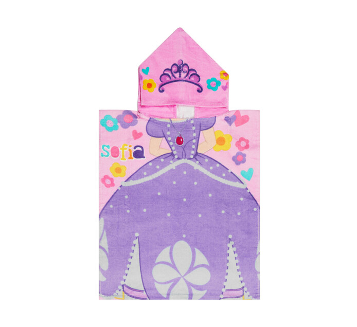 Character 50 x 115 cm Hooded Towel Sofia the First