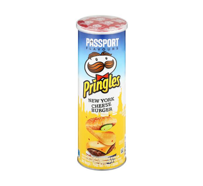 Pringles Potato Chips NY Cheeseburger (1 x 110g)