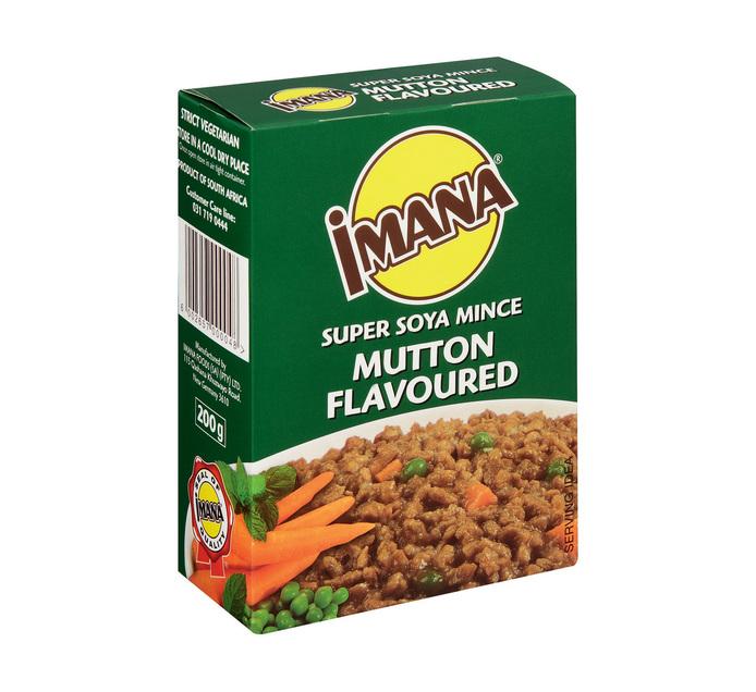 Imana Soya Mince Mutton (10 x 200g)