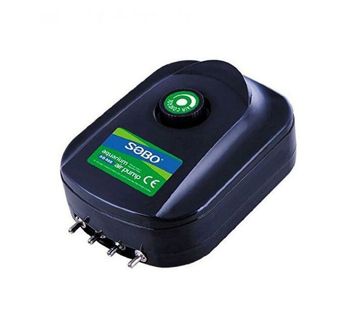 SOBO Air Pump 8W - 4x3 L/min - 4x 0.02Mpa