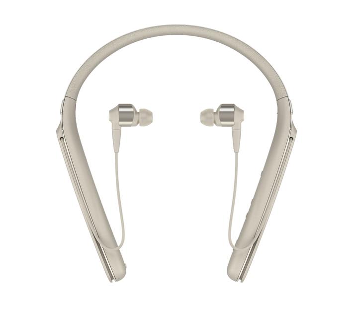 Sony WI-1000X Wireless Noise Cancelling In-ear Headphones - Beige