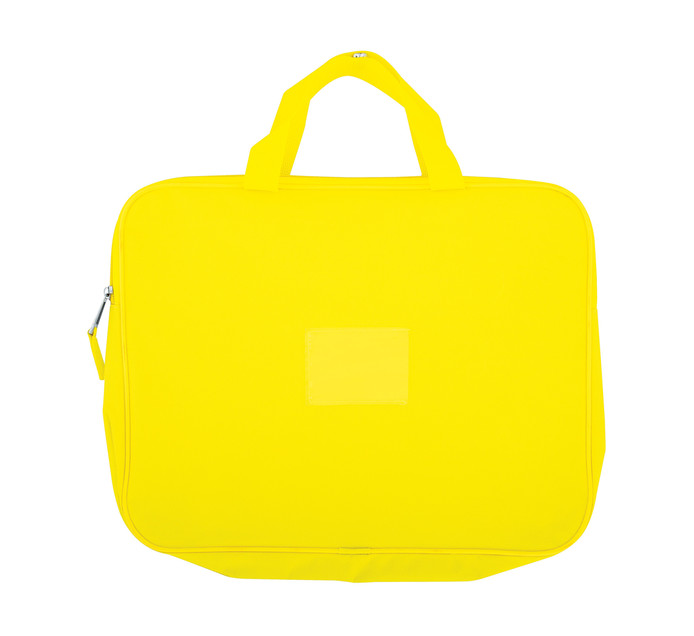 Kenzel A4 Book Bag with Handle Yellow Yelow