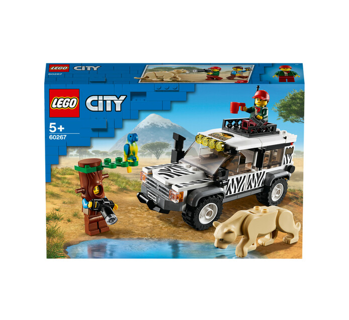 Lego City Great Vehicles Safari Roadster