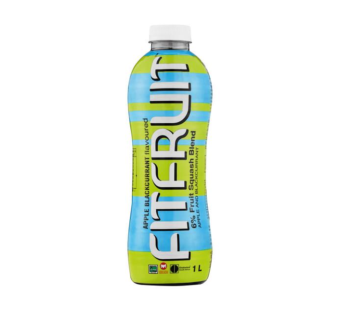 Fitfruit Sugar Free Squash Apple Blackcurrant (1 x 1lt)