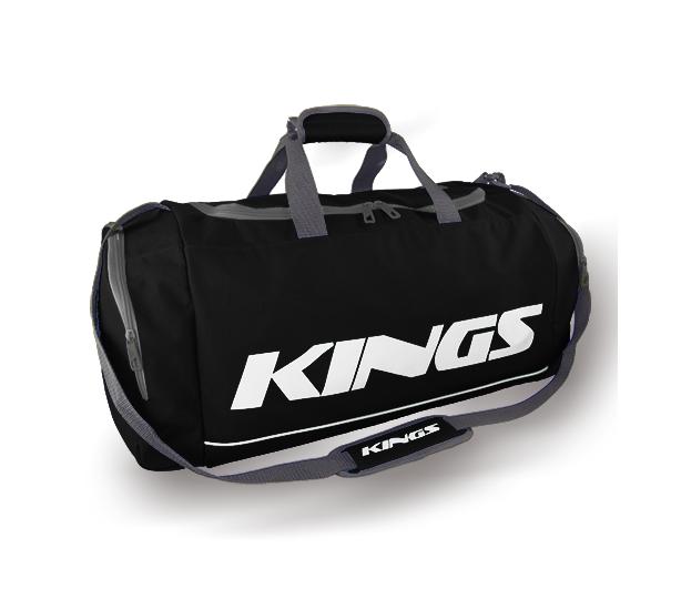 Kings Dome Shaped Carry Bag Black & White - 2577M