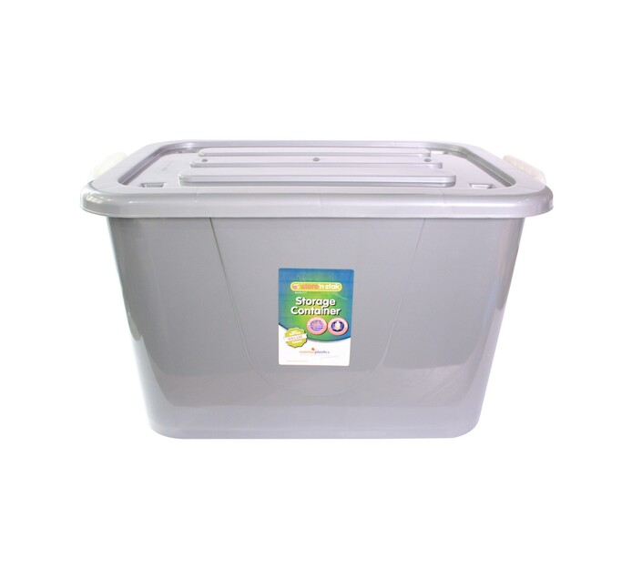 Store 'n Stak 150 l Storage Container with Lock Lid