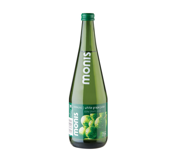 Monis Sparkling Fruit Juice White Grape White Grape (12 x 750ml)