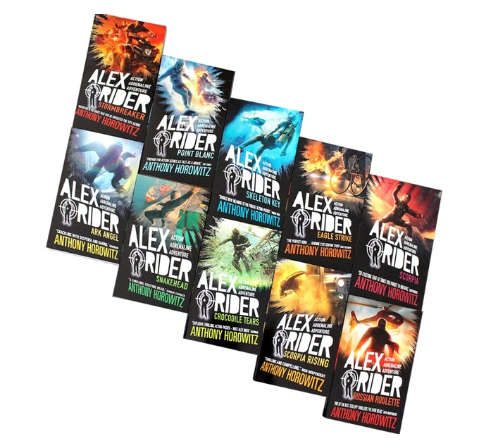 Alex Rider Complete Collection - 10 Books (Collection)