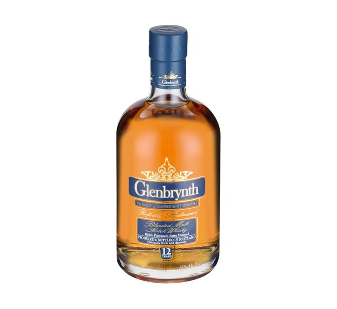 Glenbrynth 12 YO Premium Blended Scotch Whisky (1 x 750ml)