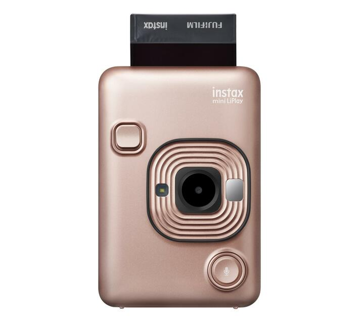 INSTAX Mini LiPlay Blush Gold