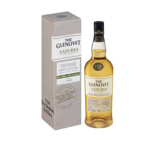 The Glenlivet Nadurra First Fill Speyside Malt Scotch Whisky In Gift Box (1 x 750ml)