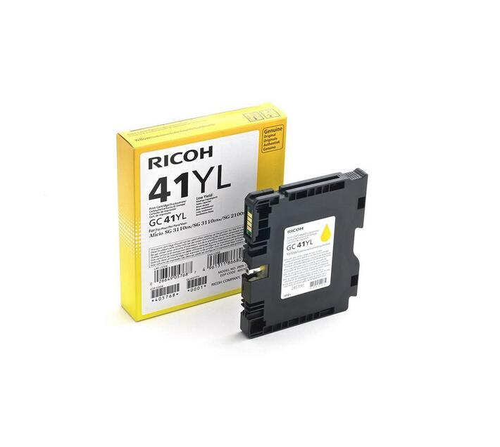 Ricoh GC 41YL - Low Yield - yellow - original - ink cartridge