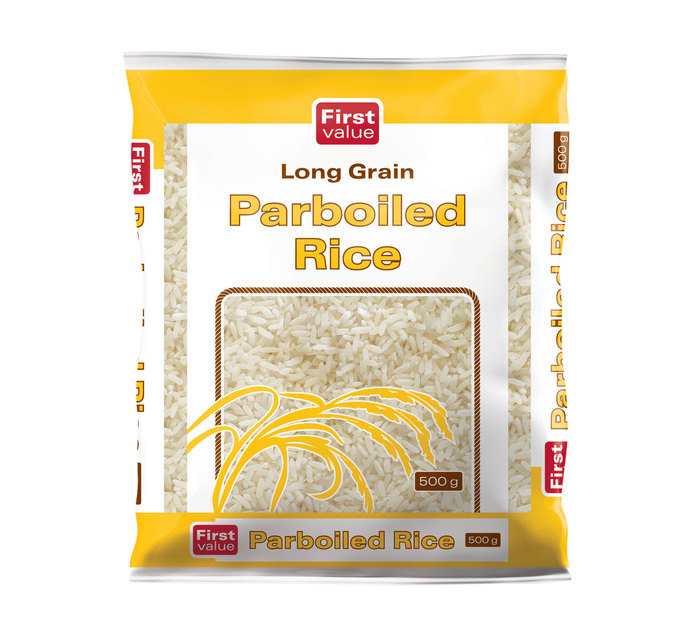 First Value Parboiled Rice (40 x 500g)