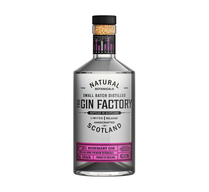 The Gin Factory Rosemary (1 x 750ml)