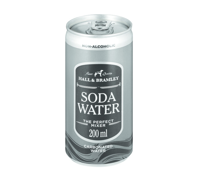 HALL & BRAMLEY SODA WATER CAN 200ML