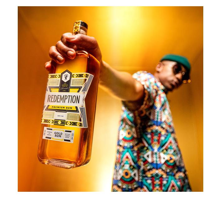 Redemption Premium African Gold Rum 750ml x 6