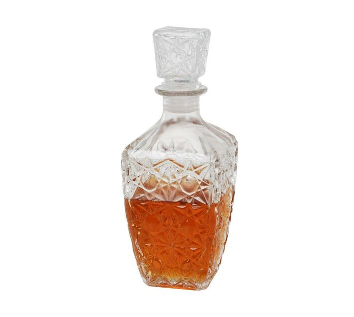 Eco Whiskey Decanter Glass with Lid