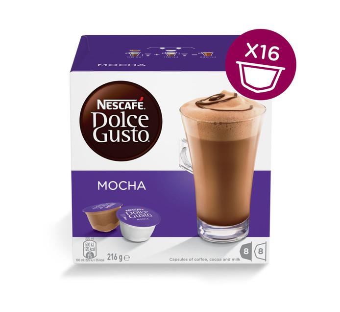 Nescafe Dolce Gusto Coffee Pods Mocha (1 x 200g)