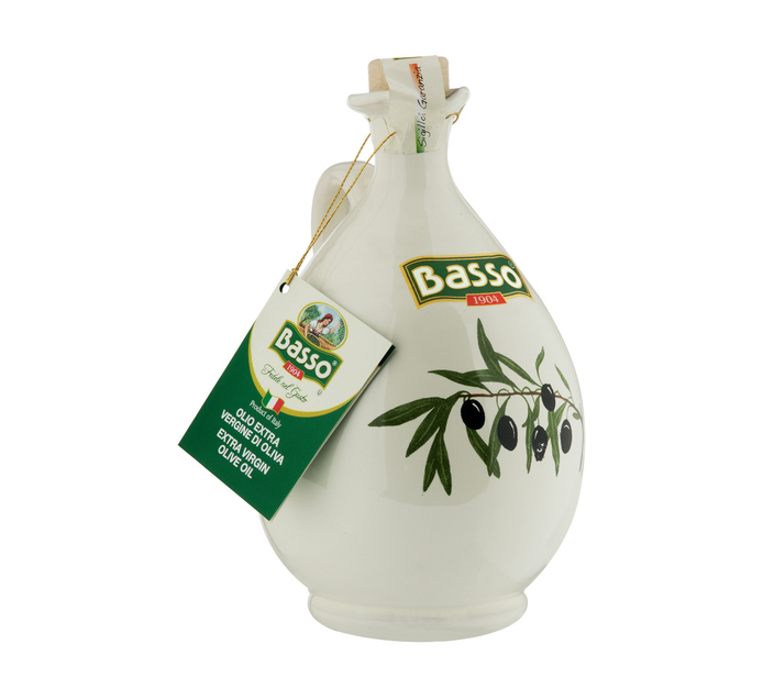 BASSO Unfiltered Extra Virgin Olive Oil Jar (1 x 750ml)