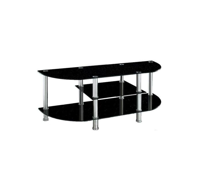 Classic oval TV stand