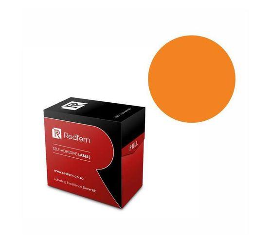 Redfern Self-Adhesive Colour Codes - C32 Orange