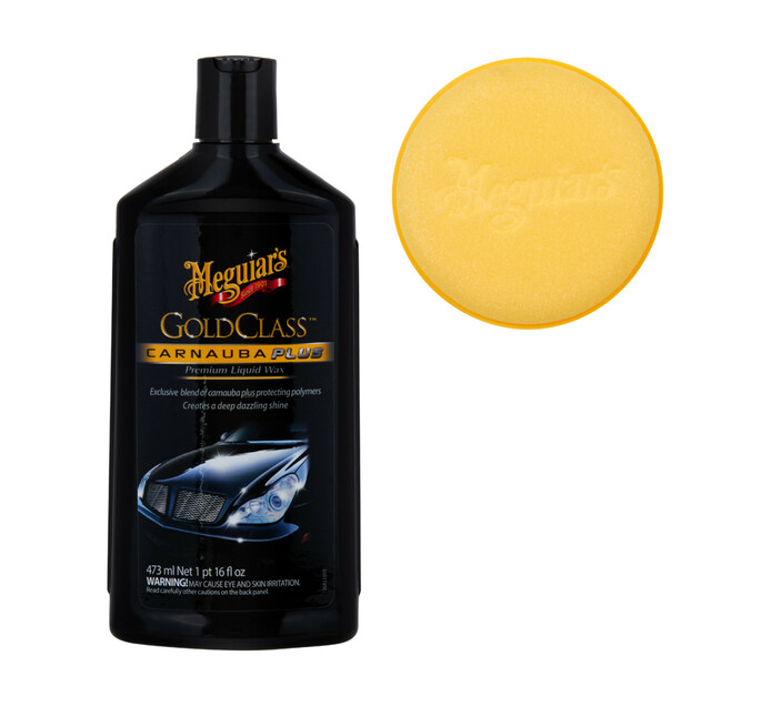Meguiars 473ml Gold Class Wax Liquid