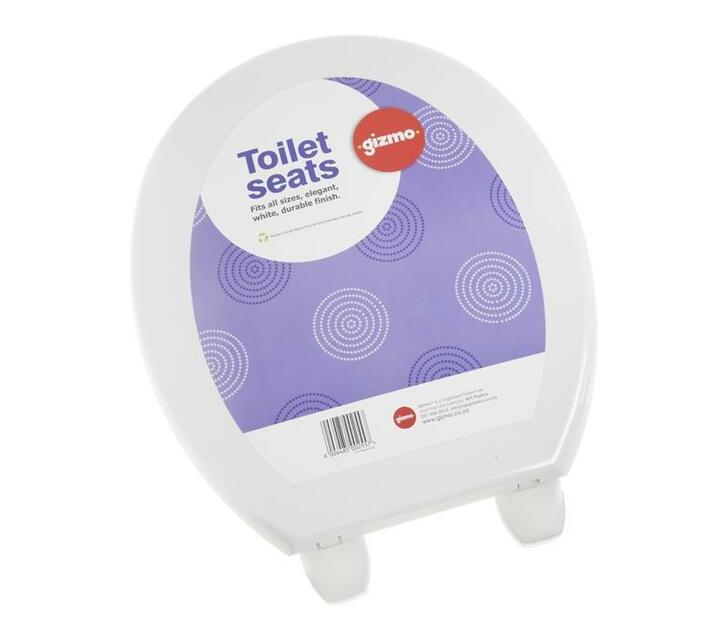 Heavy Duty Thermoplastic Toilet Seat - White
