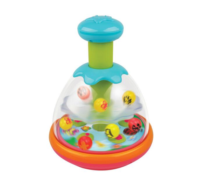 Redbox Spinning Ball Top