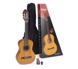 Stagg C430 3/4 Natural Classical Guitar Pack