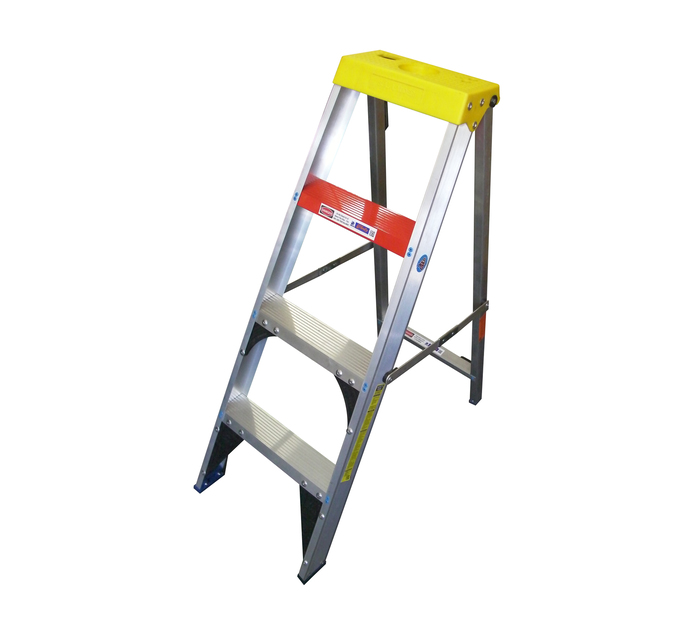 GRAVITY ALUMINIUM 4-STEP LADDER | Aluminium Ladders