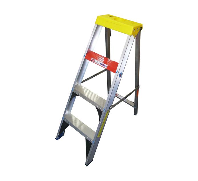 GRAVITY 1 2m Gravity Aluminium 4-Step Ladder