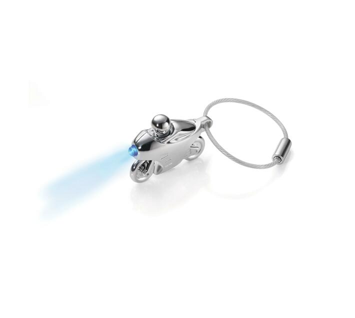 Troika Key-ring Motorbike with Blue LED light Speed Light
